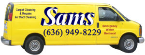 Sams Carpet Cleaning Van