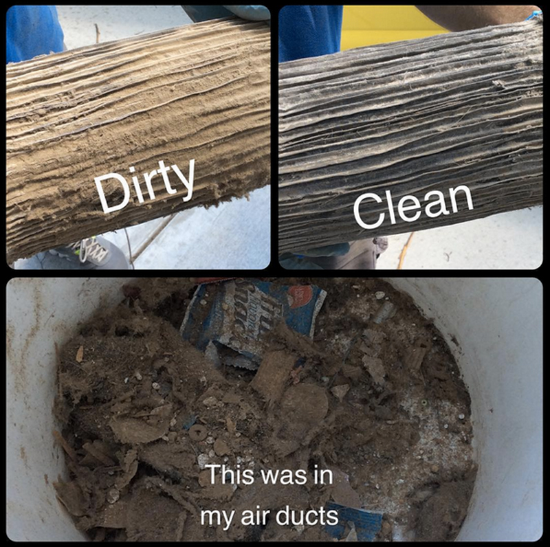 Dirty Duct Cleaning