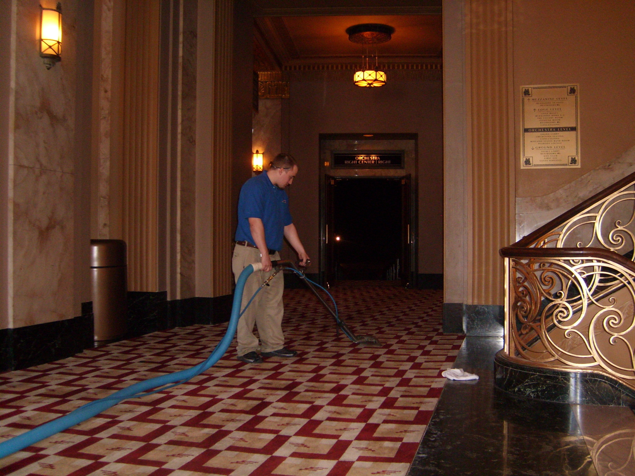 venue carpet cleaning