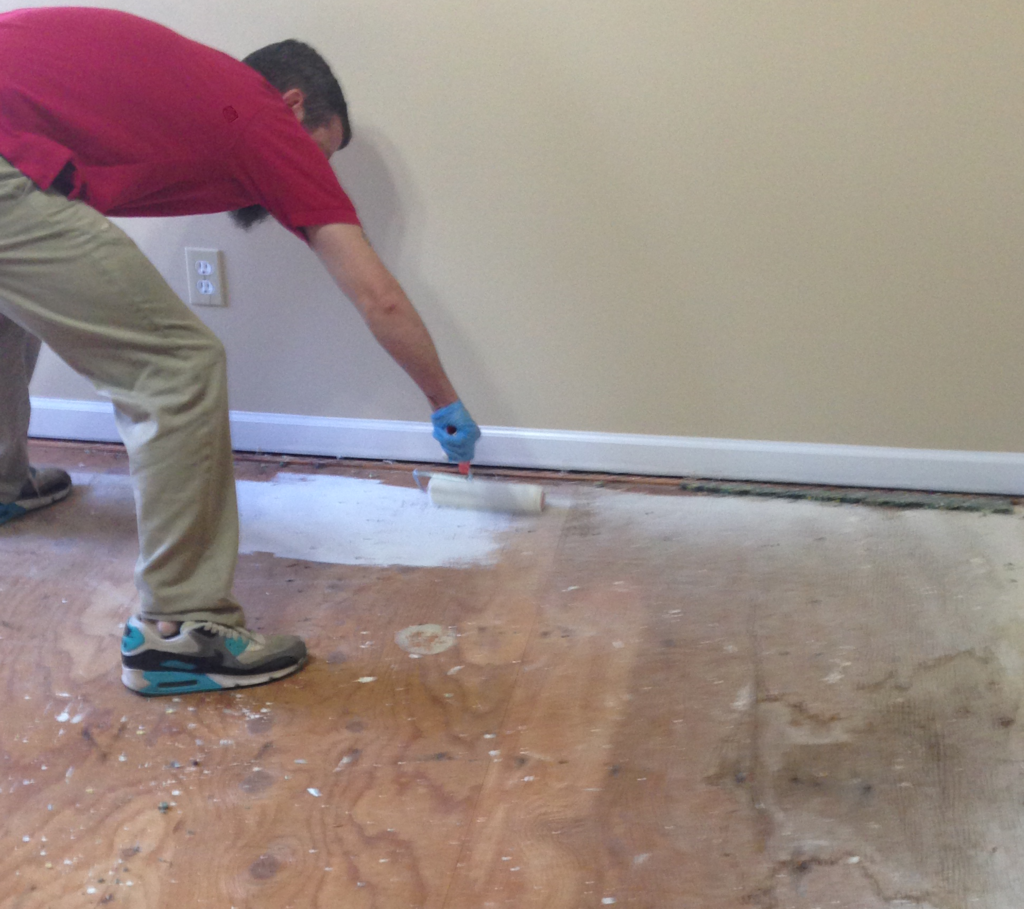 Sealing the Subfloor