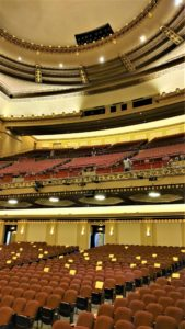 Stifel theatre gallery view from the stage